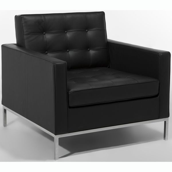 Florence Chair (Black Leather)