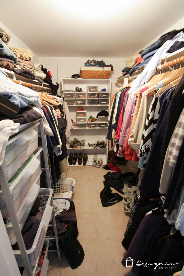 How To Organize Your Closet In 2 Hours Or Less. 40 Hanger ...