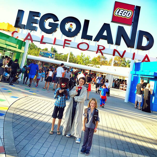 Brick or Treat at Legoland Halloween is one of the best family halloween activities in Southern California.
