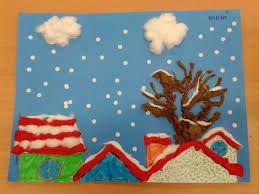 Resultado de imagen de mural invierno infantil