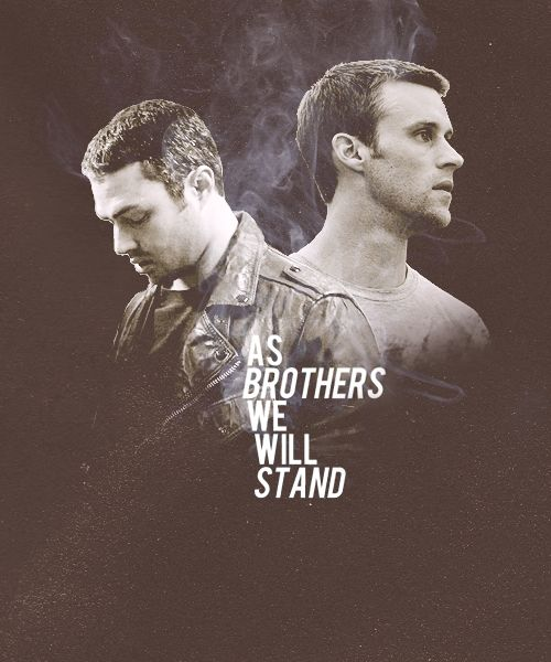 At the start of season one, their relationship was a little rocky... well very rocky. Glad theyre better now. :) Severide  Casey