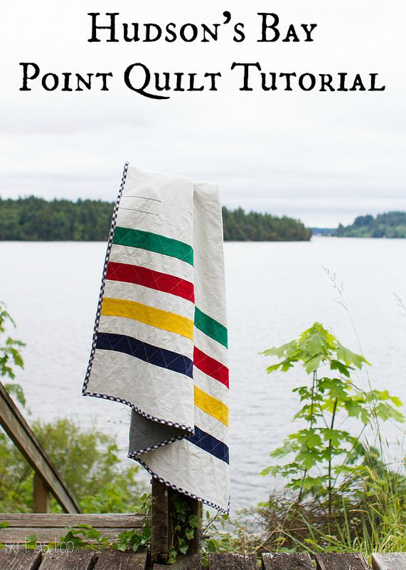 Hudson's bay point quilt tutorial