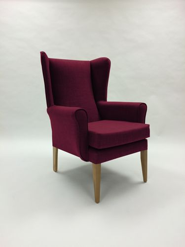 Devonshire High Seat Chair In Plum