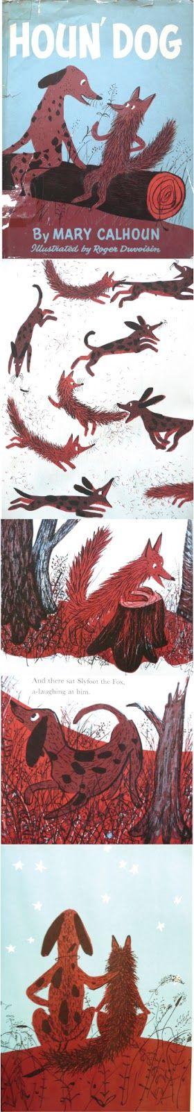 Roger Duvoisin - Houn' Dog | Stickers & Stuff