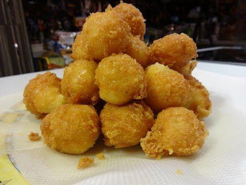 Πατατοκροκέτες (Potato croquettes) - YouTube