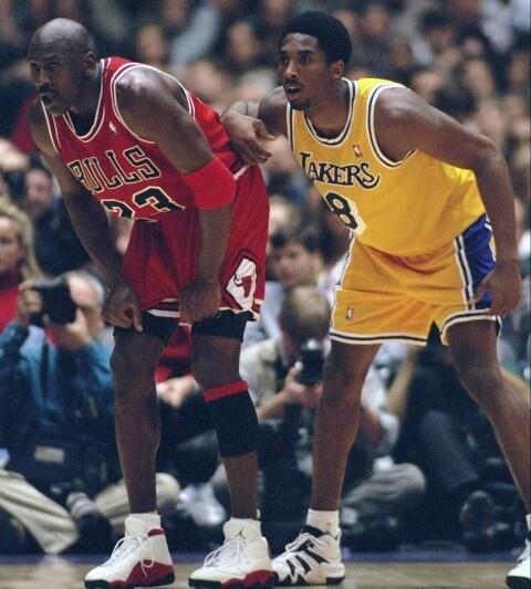 young Kobe vs old Jordan   NBA   Pinterest   Kobe and NBA