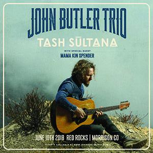 Red Rocks Entertainment Concerts | Concerts Events | Detail | John Butler 6 10 2018