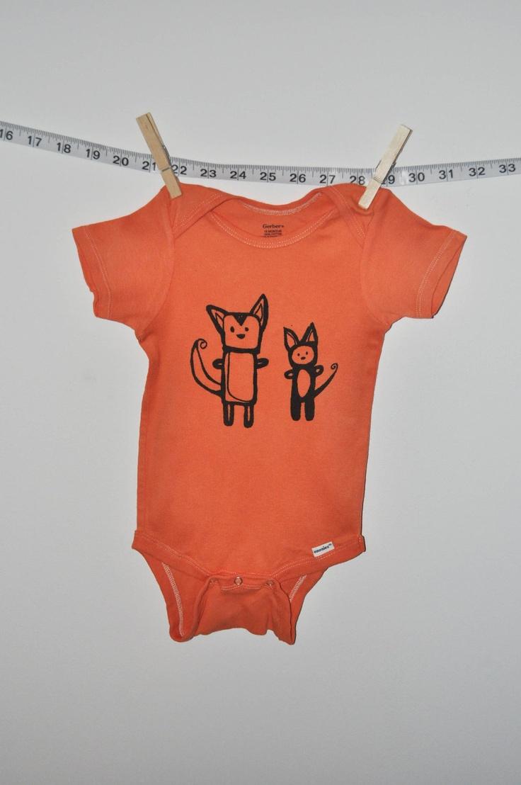 Baby onesie baby clothes cat