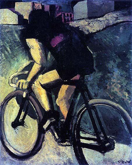 Mario Sironi Il ciclista 1916