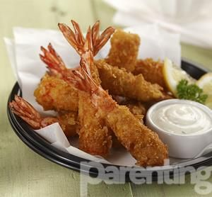 Parenting.co.id: Udang Corn Flakes