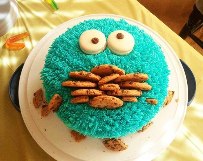 außergewöhnliche torten monsters kuchen cookies
