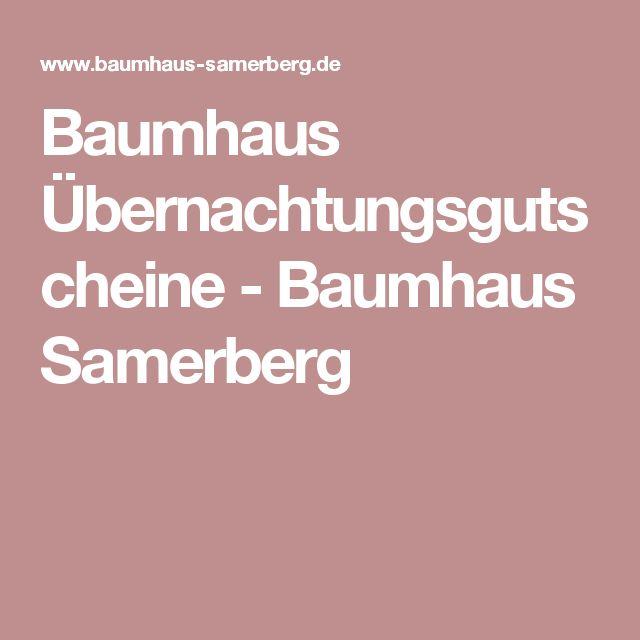 Baumhaus Übernachtungsgutscheine - Baumhaus Samerberg