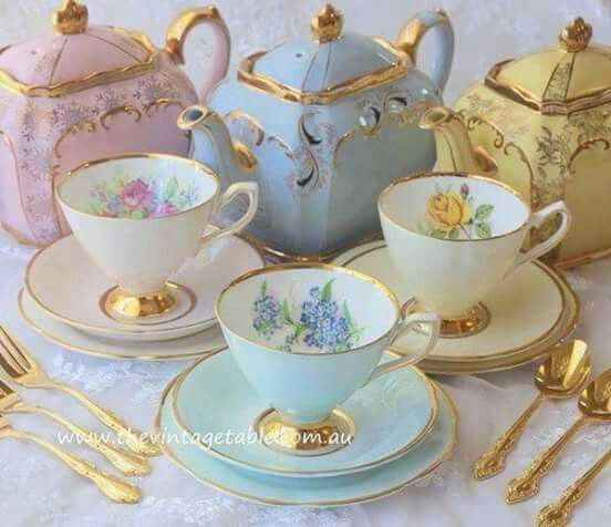 One day I'll be sipping my tea from one of my chinaware sets on my veranda