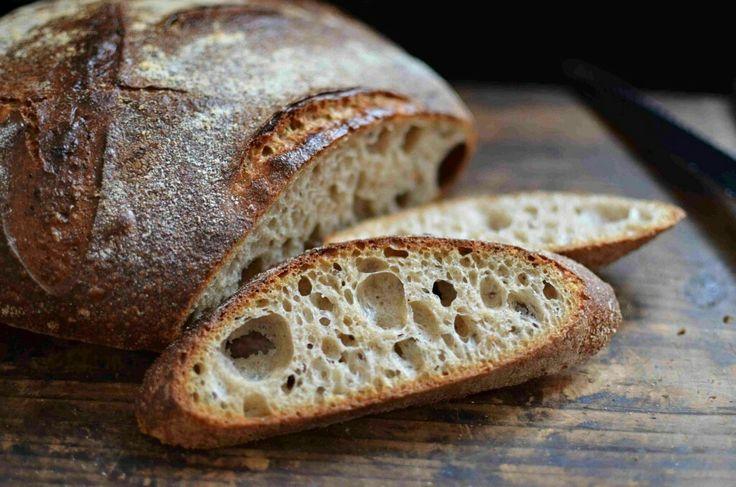 Špaldový kváskový chleba s bramborami