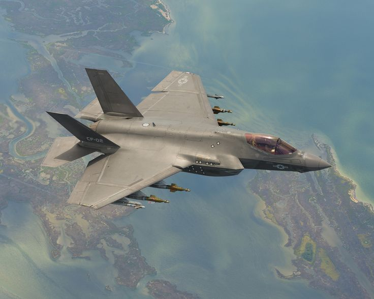 F-35C During Weapons Testing