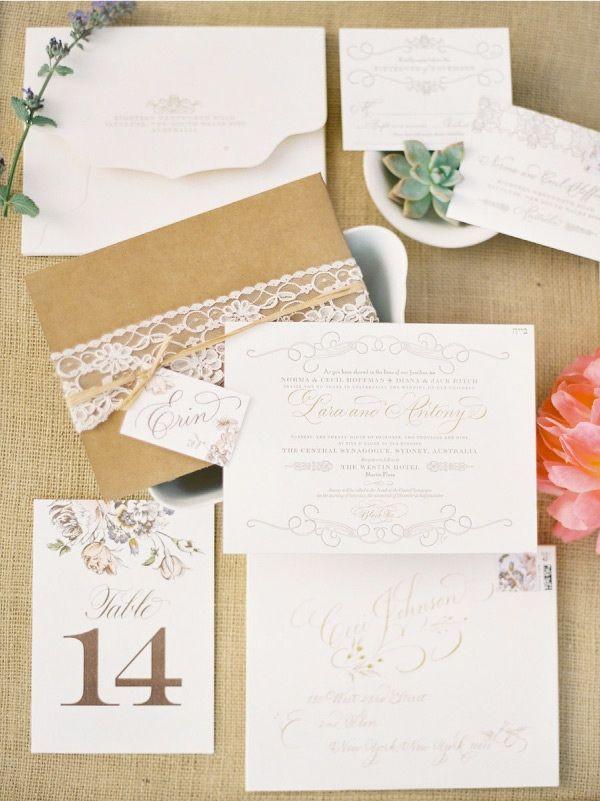 vintage country garden wedding invitations%0A Vintage invitation