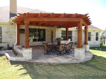 Austin outdoor living group 39 s design ideas perfect for for Patio extension designs