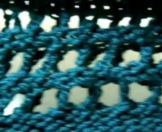 Loom knitters now have a new stitch to use on their knitting loom. The new loom knitting stitch is called the Chain Lace Stitch. This new knitting stitch demonstrated in the loom knitting video tut...