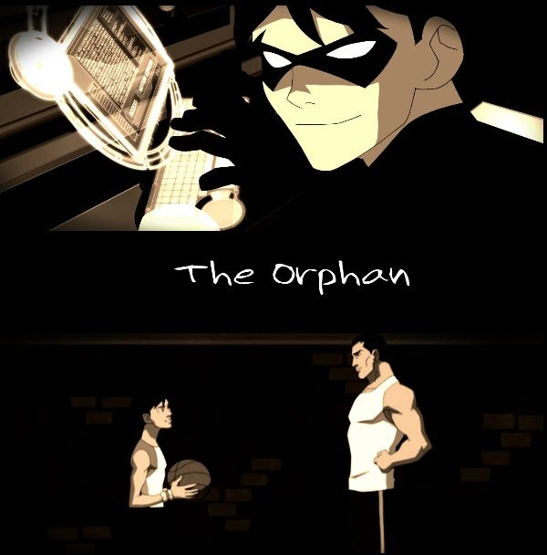 Dick Grayson: The Orphan by Morgan FJ