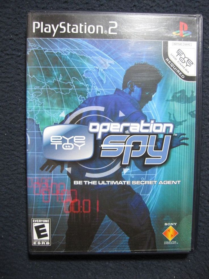 Eye Toy Operation Spy [PlayStation2] ps4 gaming video