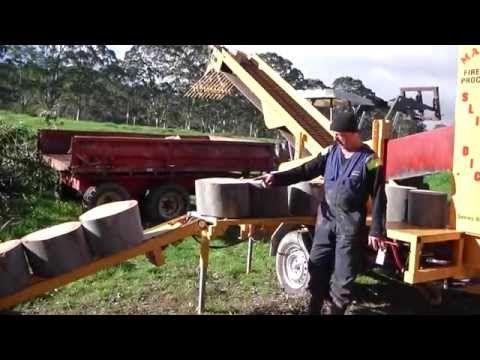 MAHOE SLICER DICER FIREWOOD PROCESSOR - YouTube