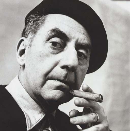 Irving Penn, Man Ray, Paris, November 1957