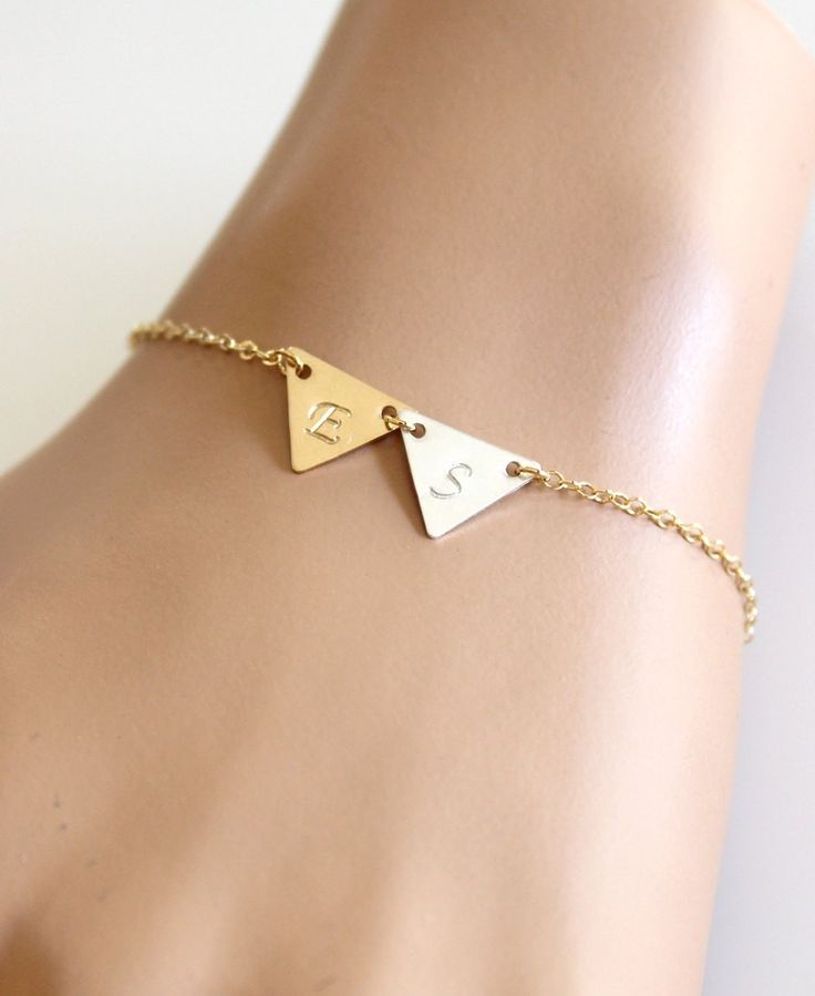 Handmade item. Materials: Sterling Silver, 14K gold filled                                                          Ships worldwide from California, United States
