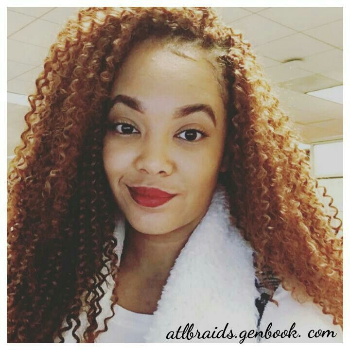 Crochet Braids In Atlanta : Crochet Braids done with boheimian braid by Freetress 6 pack install ...
