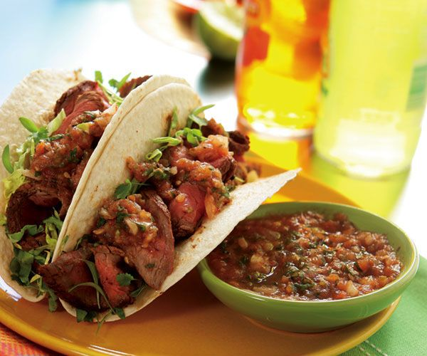 Sirloin Tacos Recipe — Dishmaps