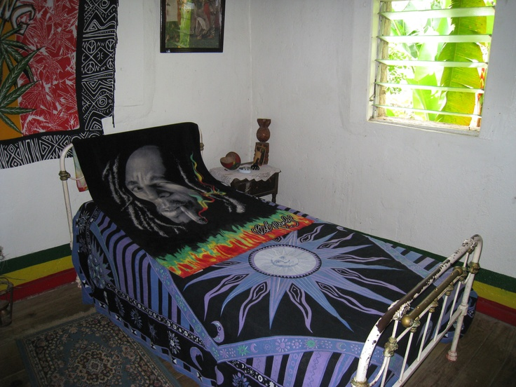 Well Share The Shelter Of My Single Bedthe Bed In Bob Marleys Mothers Homeand Home That He Came Back To From Time Meditate And