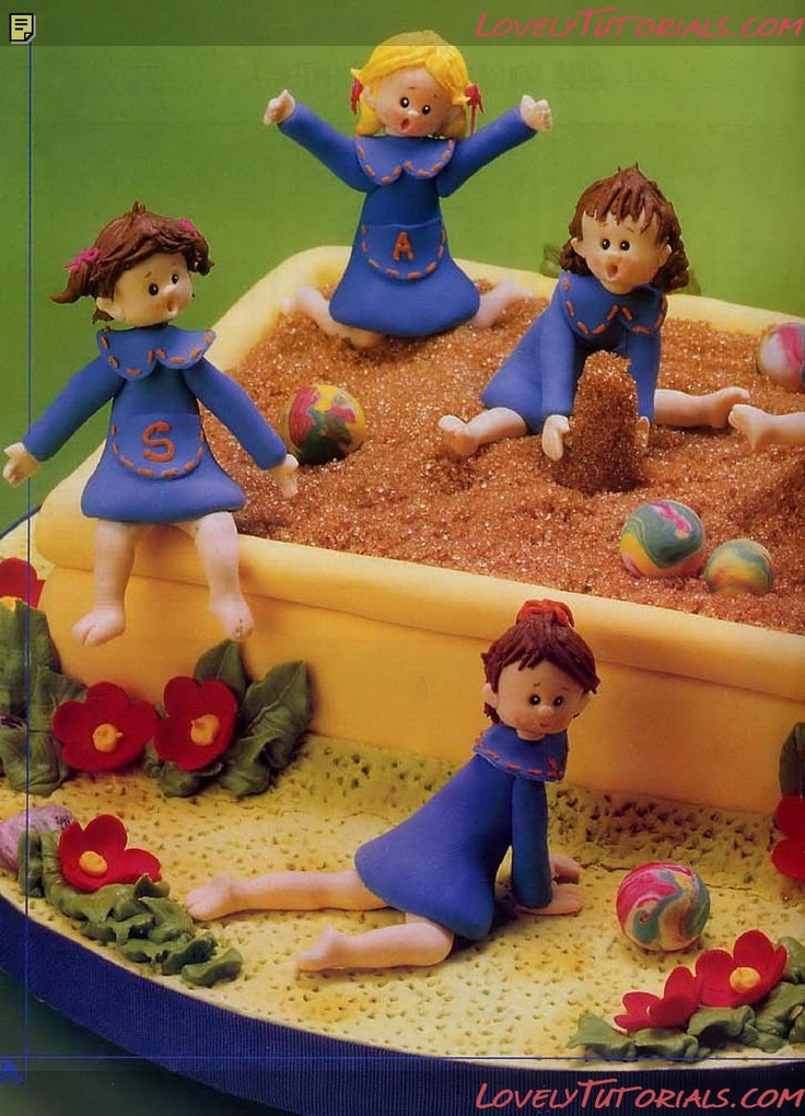 Top 25 Ideas About Playground Cakes On Pinterest