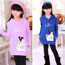 Marca Primavera Outono menina hoodies camisolas miúdos dos desenhos animados blusa Infantis Minnie Crianças Roupa Rodini Ladies Tops (China (continente))