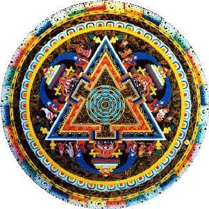 Mandala Mandala Sagrado Libre y representativo. Podremos lograr esa sincronia con colores?