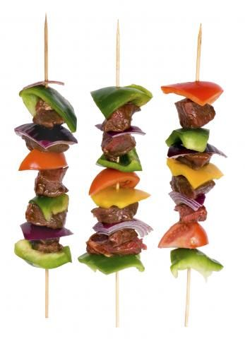 Rainbow Steak Kebabs                            Recipes: Memorial Day Grilling | My Well-Being