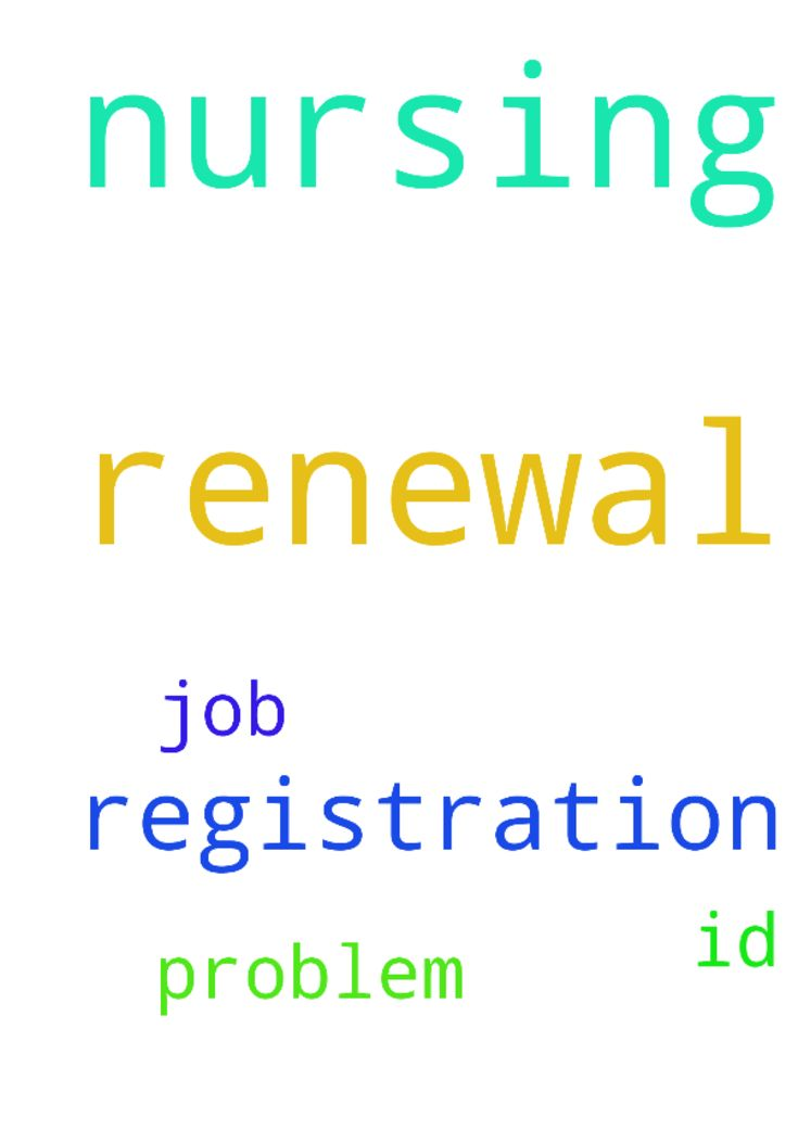 Pray for renewal of nursing registration - Pray for renewal of nursing registration and for id and job problem  Posted at: https://prayerrequest.com/t/yjr #pray #prayer #request #prayerrequest