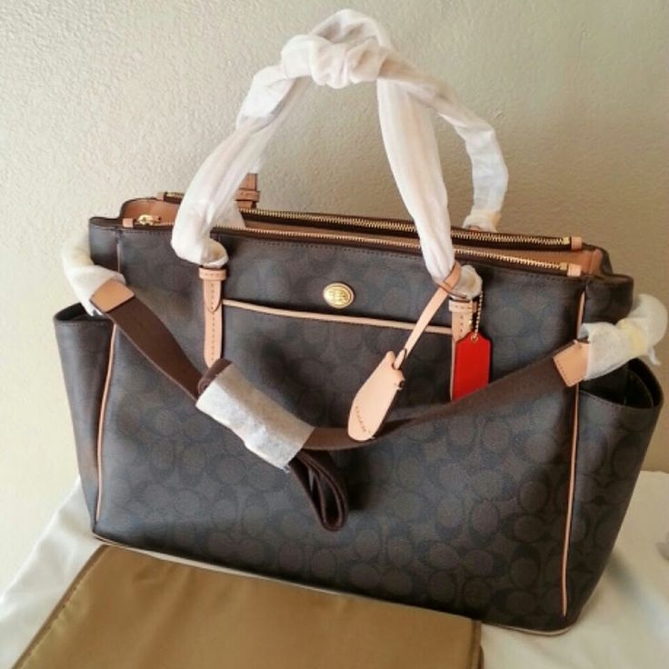 25 Best Ideas About Coach Diaper Bags On Pinterest