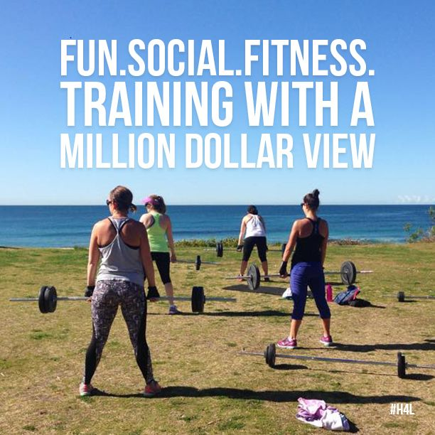 Each morning we realise just how lucky we are to train with fantastic people, in such an amazingly beautiful place! http://healthy4life.net.au #trainhailorshine #milliondollarview #socialfitness #outdoorfitness #crossfit #bootcamp #befit #bemotivated #workout #exercise #fitnessinspiration #healthy4lifefitness #H4L