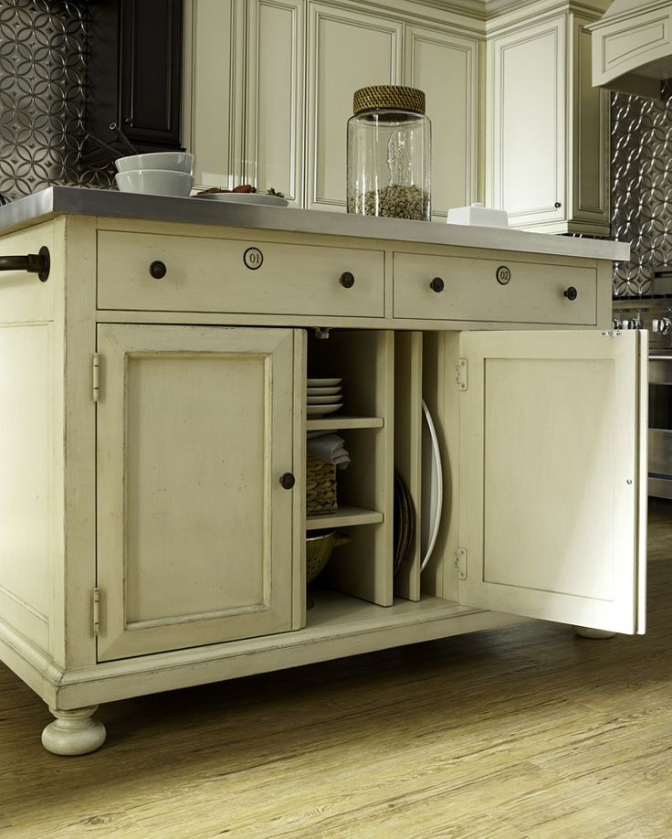 River House Kitchen Island By Paula Deen By Universal