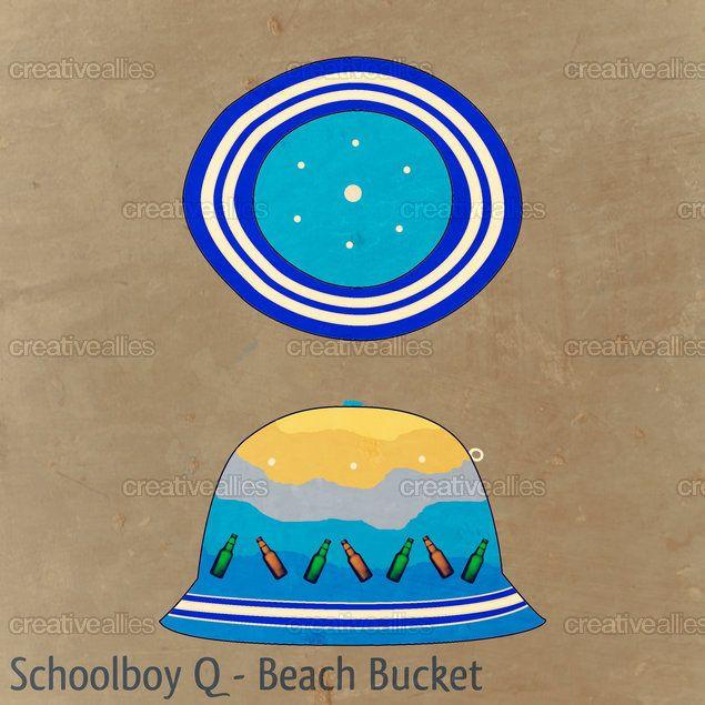 Schoolboy Q inspired bucket hat design. Vote for my design on CreativeAllies.com.