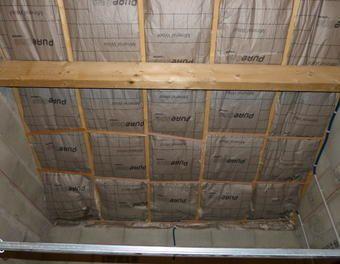 Isolation garage (toit + porte)