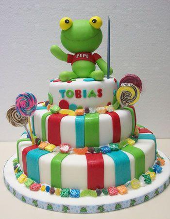 Resultado de imágenes de Google para http://www.fiestasconideas.com.ar/img/tortas/torta-sapo-pepe.jpg