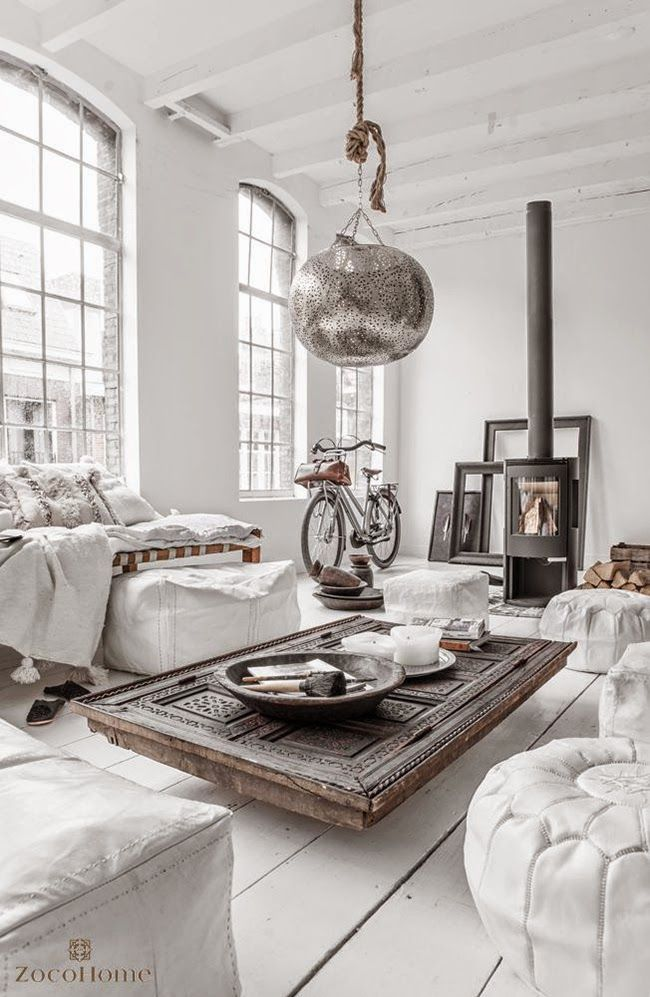 City appartment. love the details. More