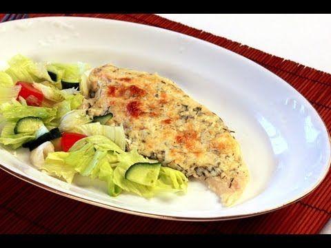 Sült hal jégsalátával videó recept (Fried fish with iceberg salad) - YouTube