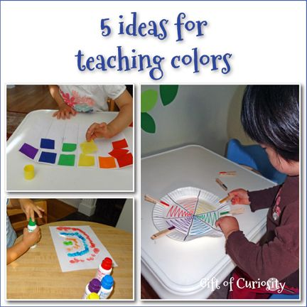 5 ideas for teaching colors gift of curiosity - Colour Games For Preschool