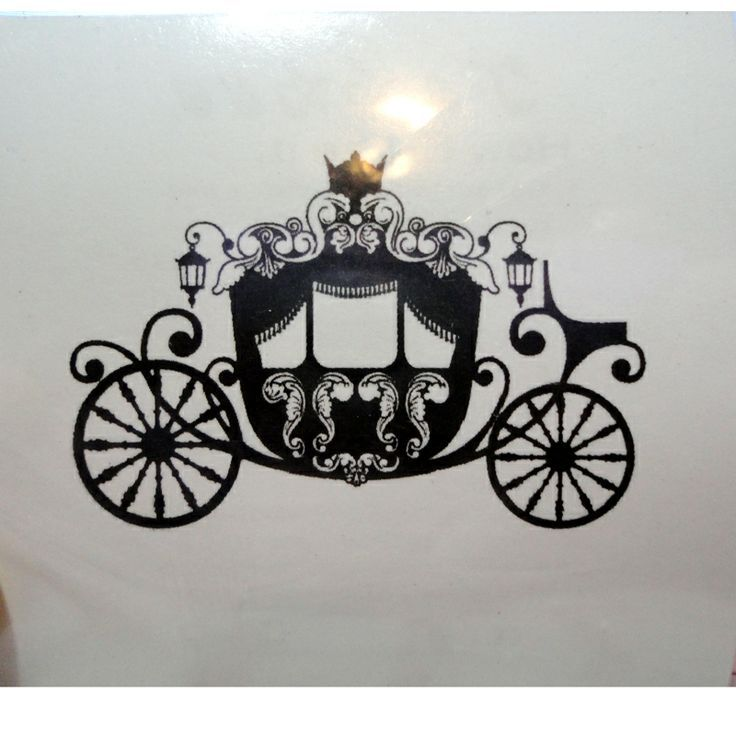cinderella pumpkin carriage silhouette - Google Search