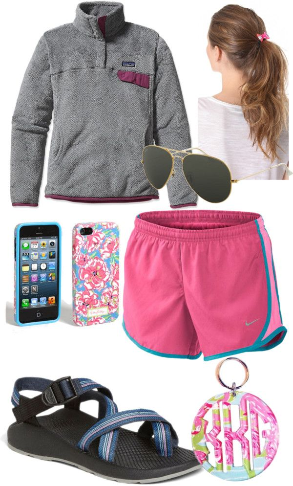"""""""Prepped Up Summer"""" by peytonchildress ❤ liked on Polyvore OMG Chacos NEED NEED NEED"""