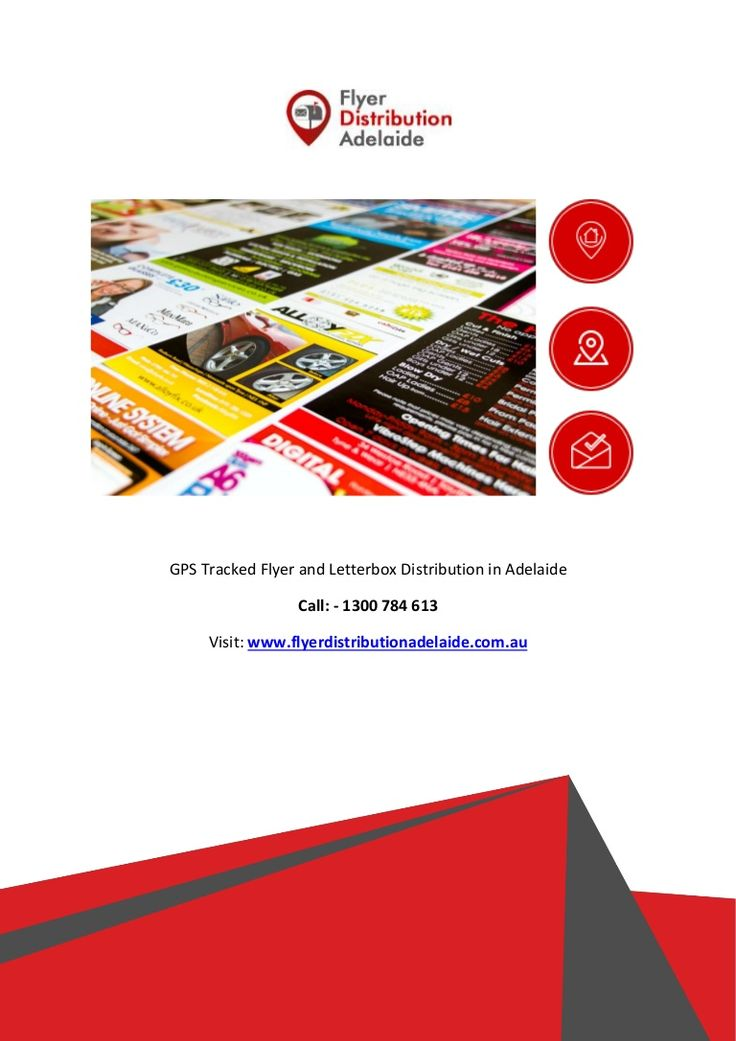 """""""How do you know if your flyers are really going out?"""" Here we at #Flyer Distribution Adelaide, Most trusted and relied upon #GPS tracked flyer and letterbox #distributors in Adelaide possessing certain exclusive qualities."""