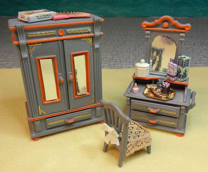 Playmobil living room playmobil by emma j victorian for Playmobil living room 4282