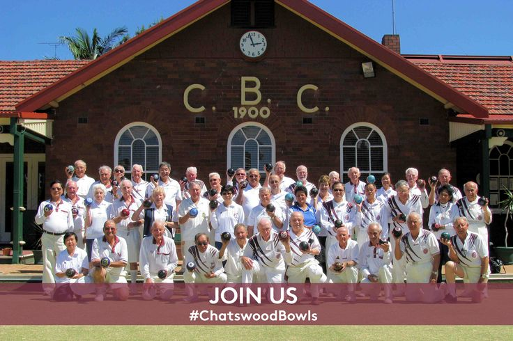 Be a part of our club that is more than 115 years old and has the best two lawn bowling greens. -www.chatswoodbowls.com.au/join-us