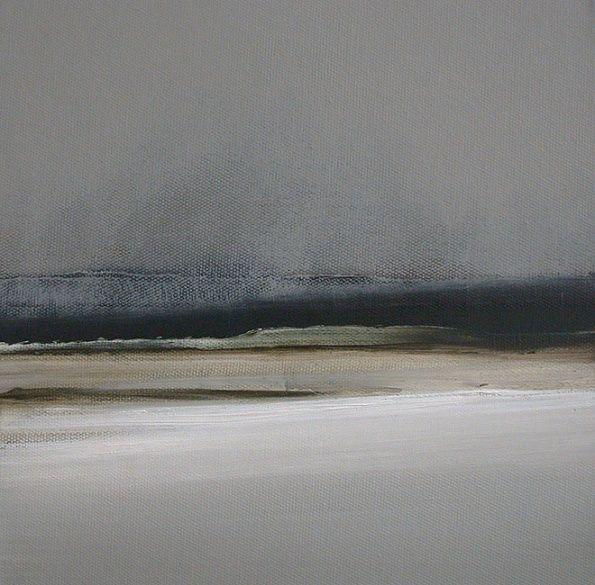 Homewards. 30cm x 30cm, oil on canvas. Dion Salvador Lloyd